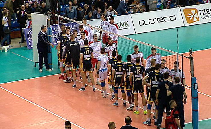 Asseco Resovia była o krok od zwycięstwa nad włoską drużyną
