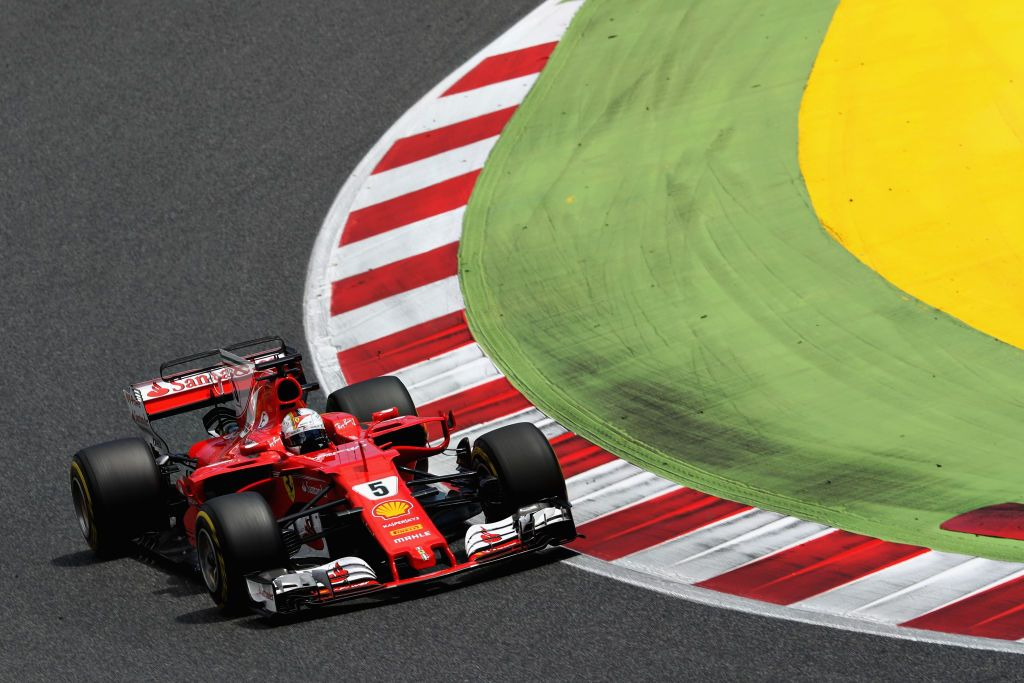 Sebastian Vettel z Niemiec (fot. Mark Thompson/Getty Images)