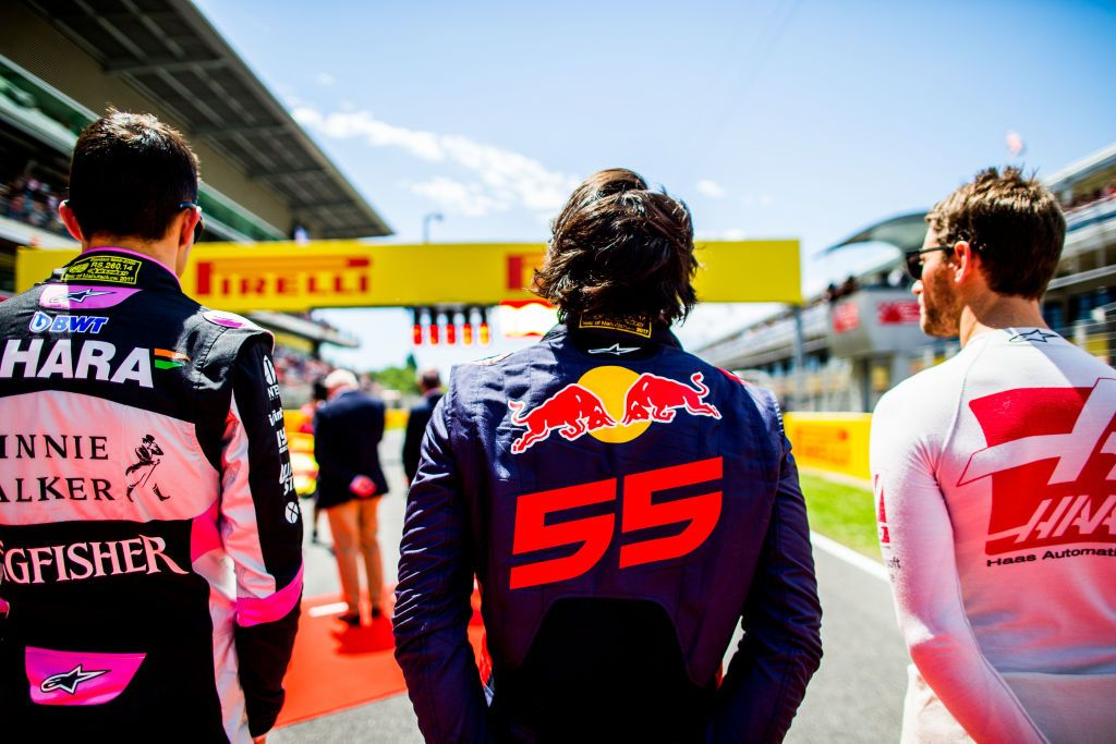 Zespół Scuderia Toro Rosso (fot. Peter Fox/Getty Images)