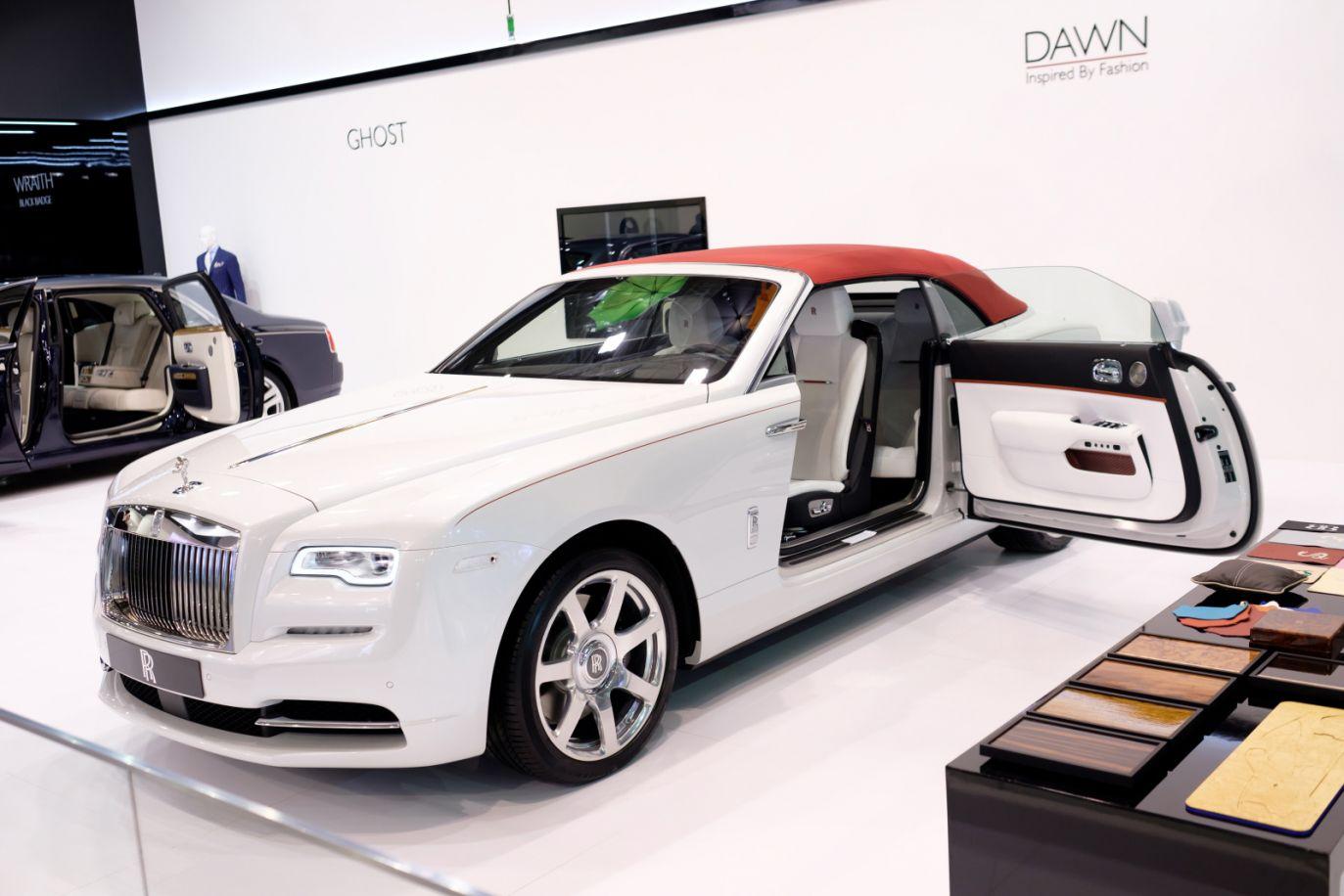 Rolls-Royce Dawn (fot. PAP/Jakub Kaczmarczyk)