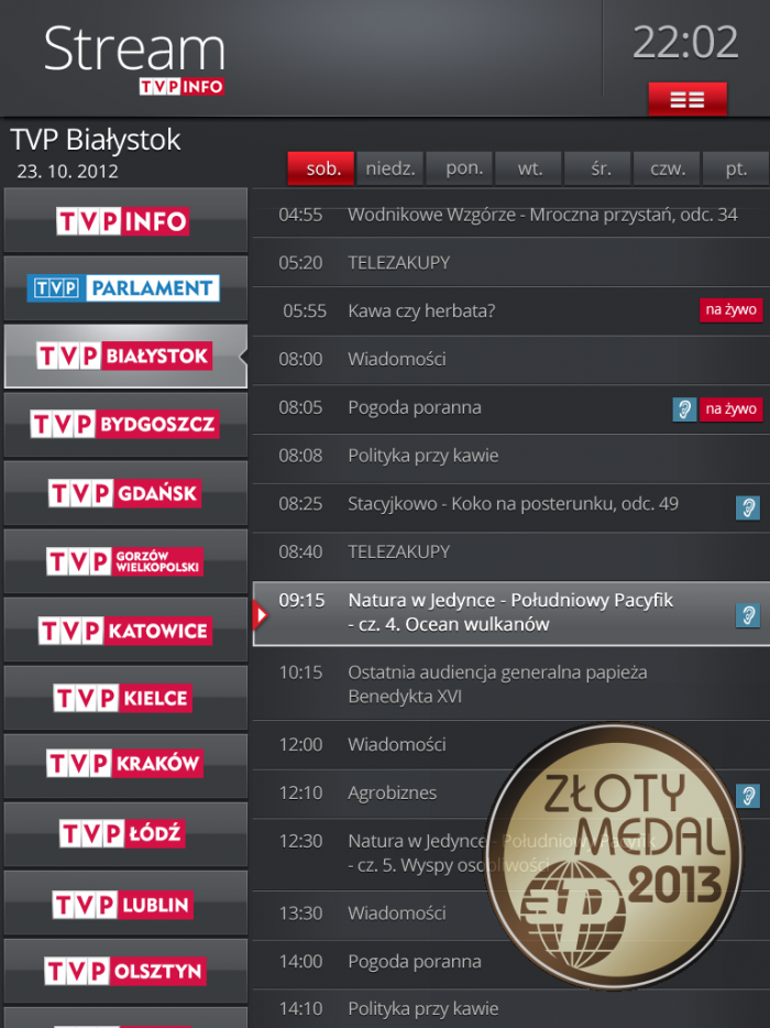 telewizja stream