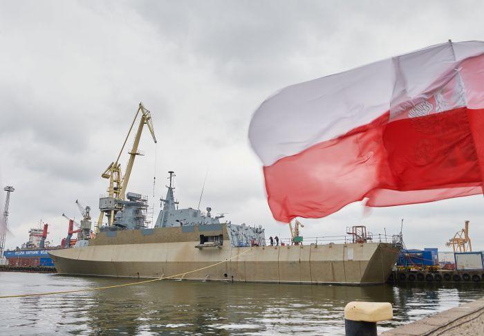 Poland-built stealth ship starts naval tests - Telewizja