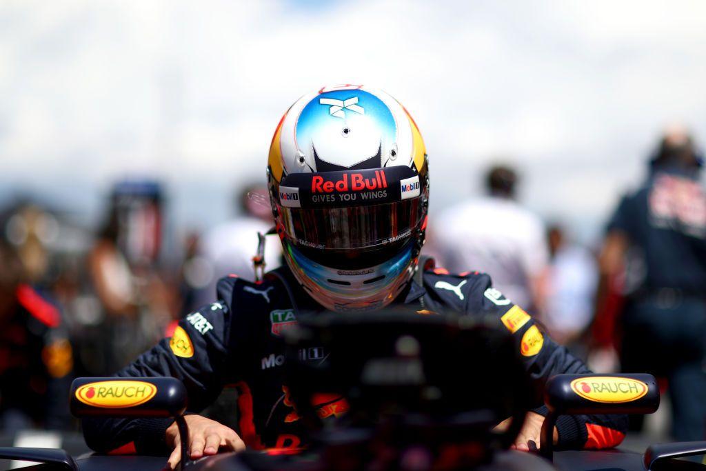 Australijczyk Daniel Ricciardo w czasie piątej rundy mistrzostw świata (fot. Dan Istitene/Getty Images)