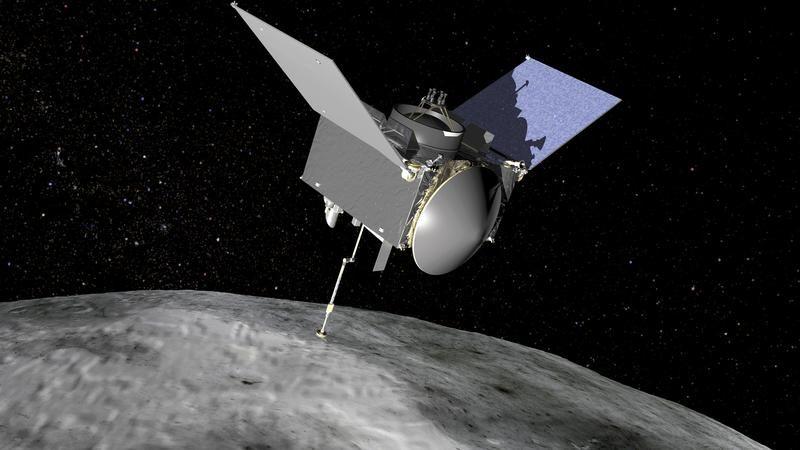Eksplorator Security-Regolith (OSIRIS-REx) do pobierapróbek do badań z asteroidy Bennu (fot. NASA/Handout via Reuters)