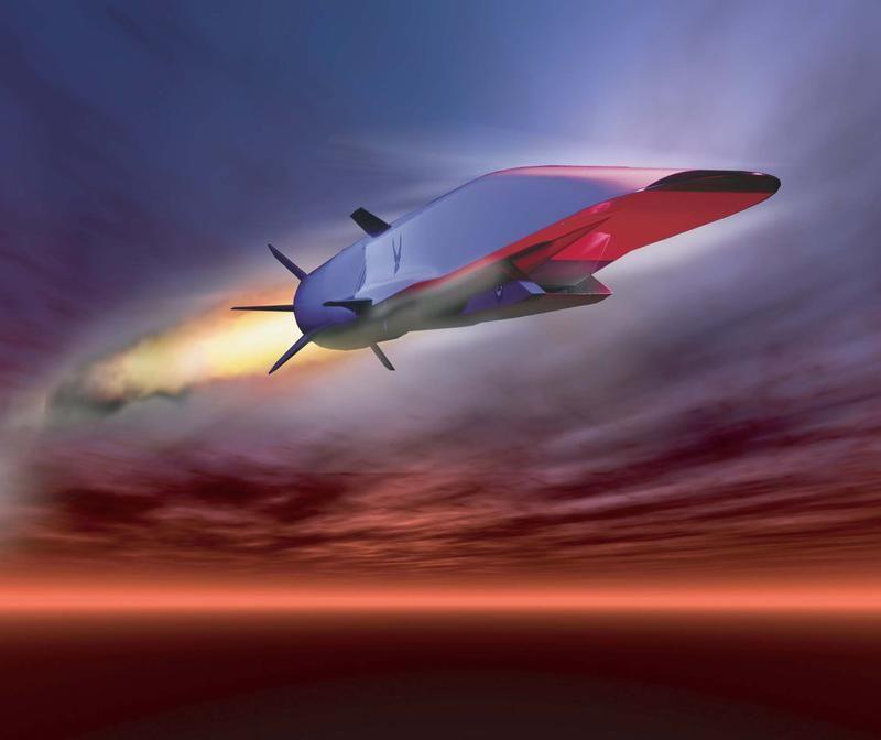 Waverider X-51A, bezzałogowy samolot, który w czasie lotu może osiągnął prędkość do 3600 mph (fot. REUTERS/US Air Force)