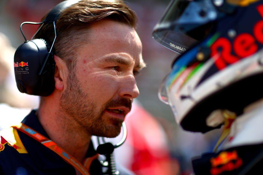 Inżynier wyścigowy Red Bull Racing Simon Rennie (fot. Dan Istitene/Getty Images)