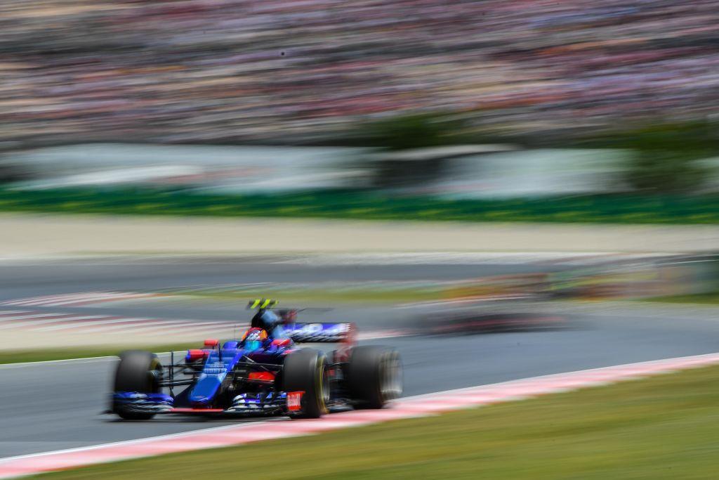 Hiszpan Carlos Sainz z zespołu Scuderia Toro Rosso (fot. David Ramos/Getty Images)