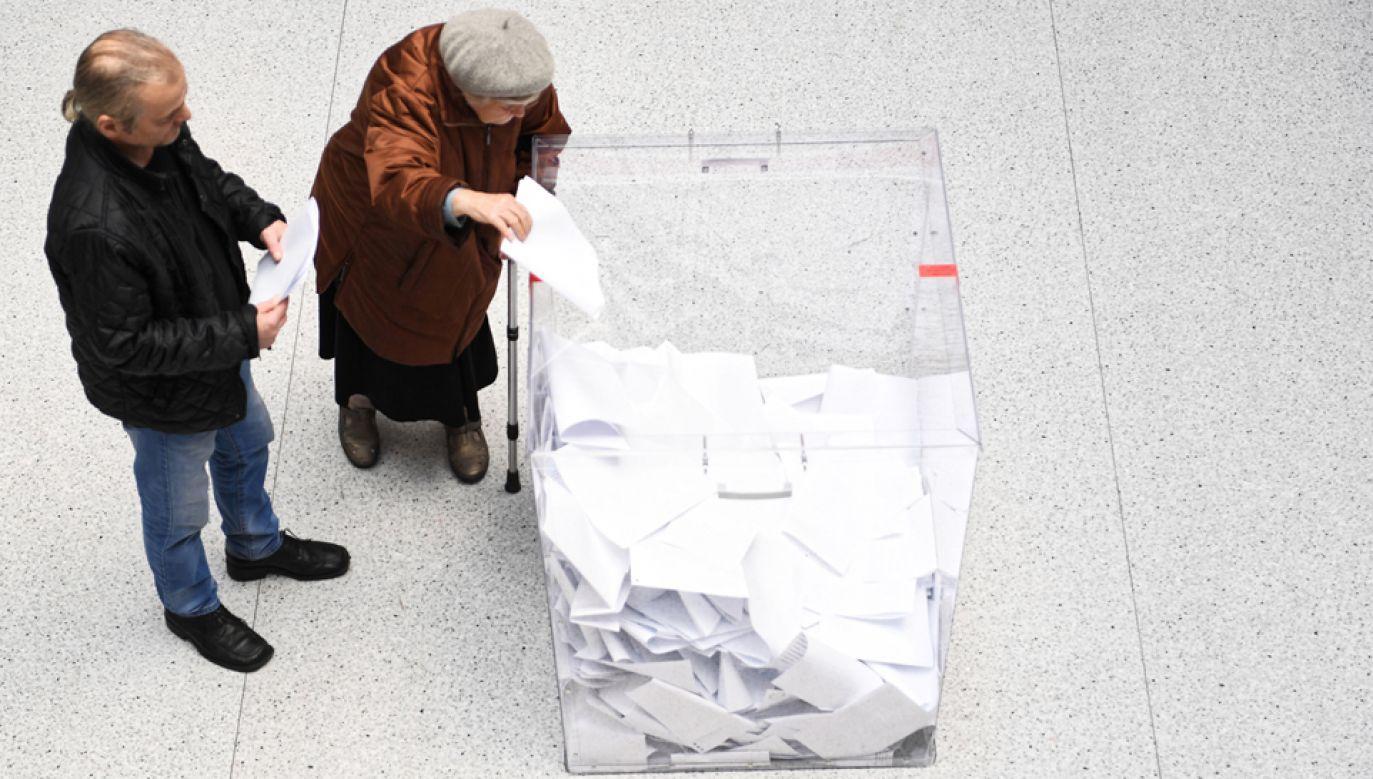 Prezydent pogratulował wszystkim, którzy zwyciężyli w wyborach samorządowych (fot. PAP/Wojciech Pacewicz)
