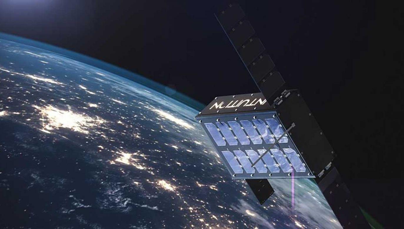 Satelita rozpocznie pracę na przełomie 2022 i 2023 roku (fot. FB/Jarosław Kacprzak)