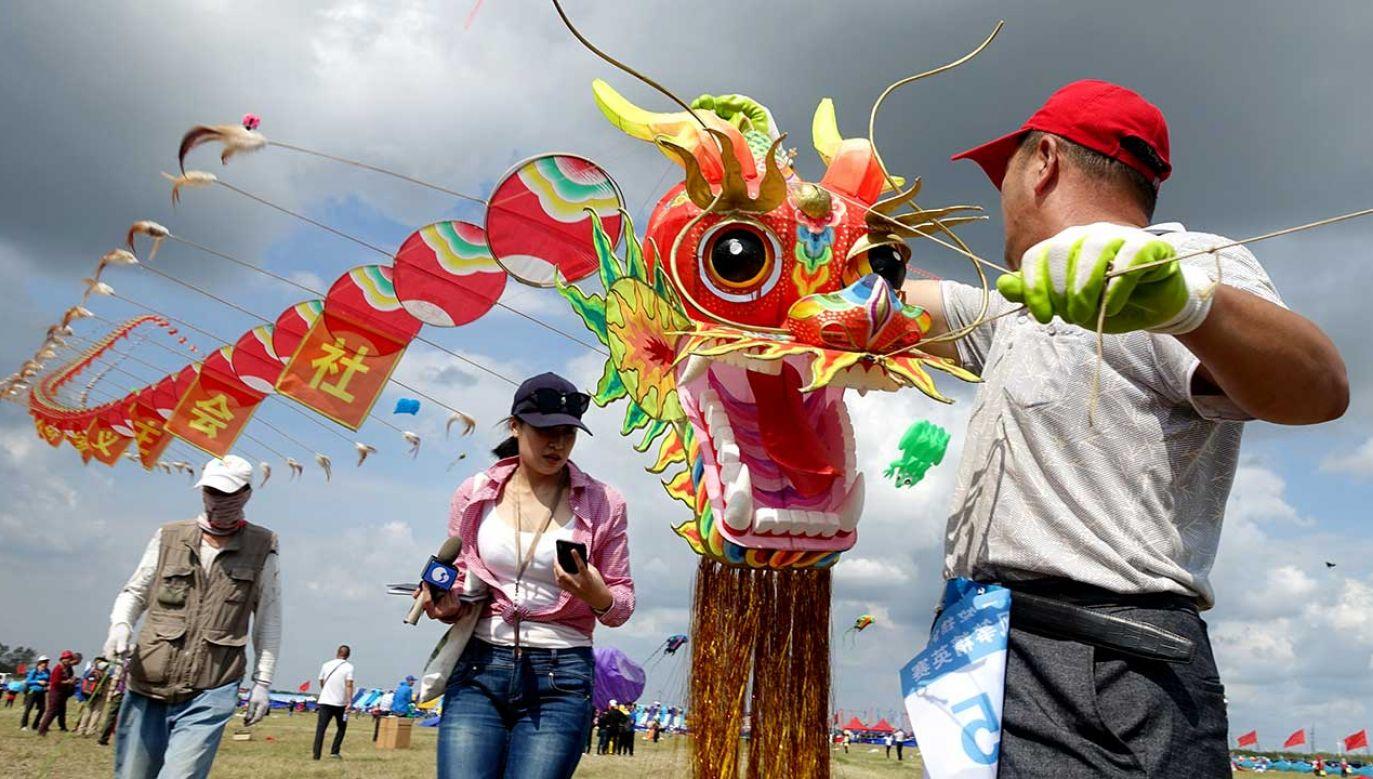 Tradycyjne latawiec składa się ze szkieletu pokrytego płótnem lub papierem (fot. VCG/VCG/Getty Images)