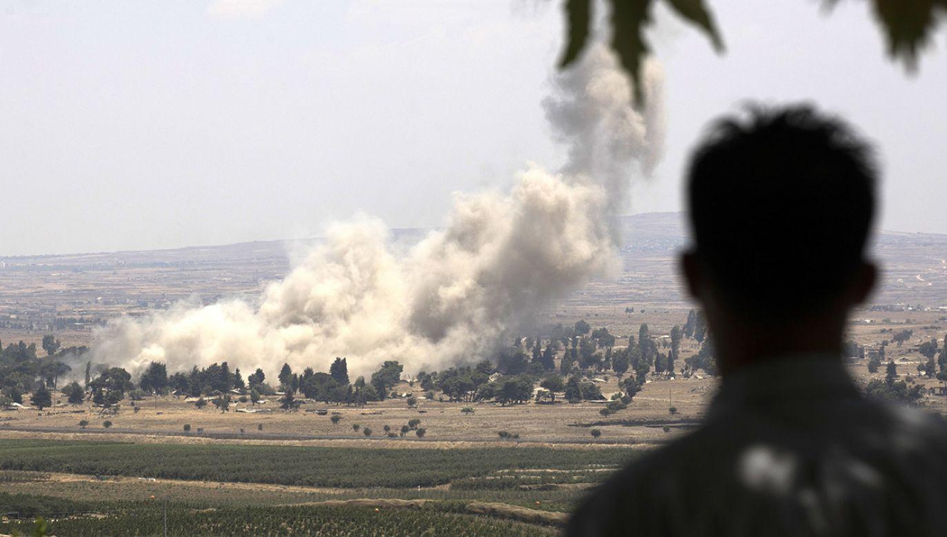 """Armia izraelska oświadczyła, że jej siły weszły do obozu, gdzie aresztowały dwie osoby podejrzane o """"działalność terrorystyczną"""" (fot. PAP/EPA/ATEF SAFADI)"""