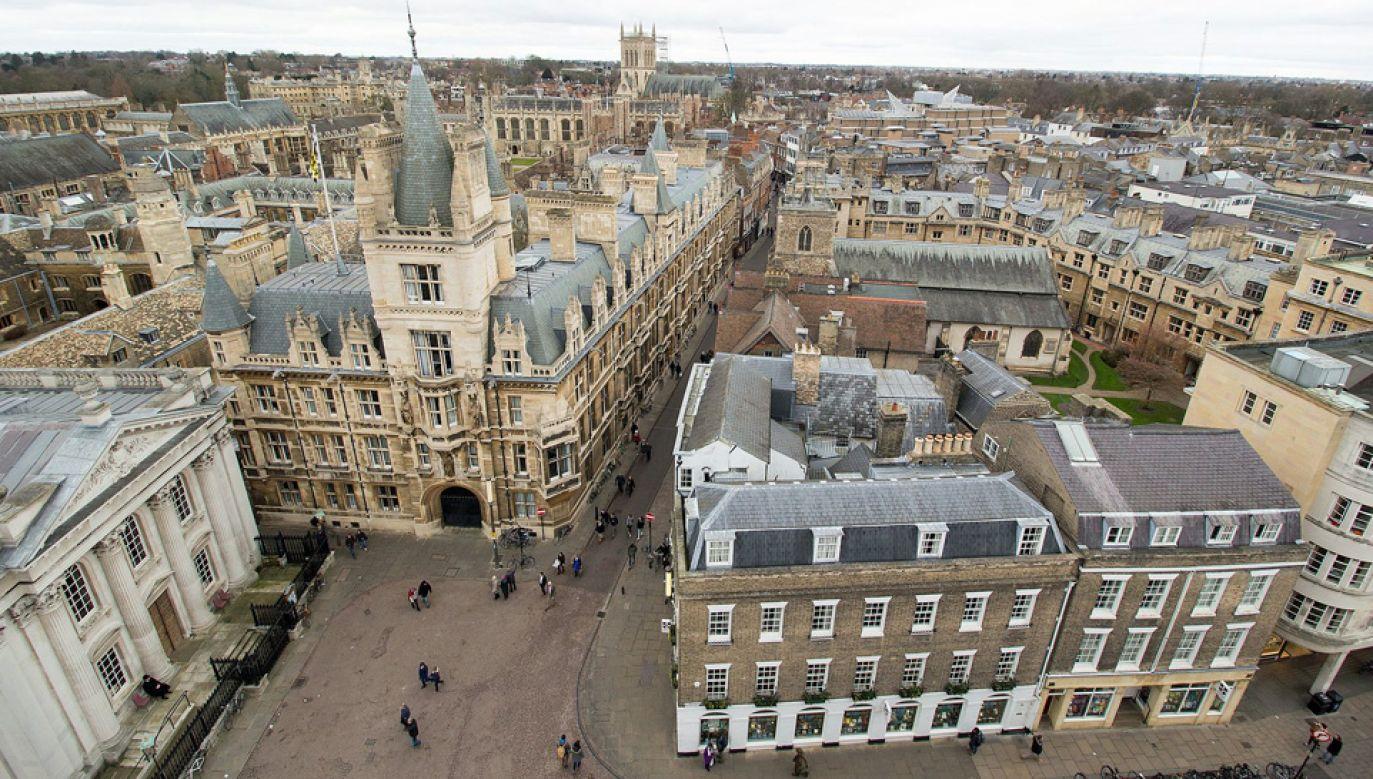 Uniwersytet w Cambridge należy do najlepszych uczelni na świecie (fot. Wiki/The wub)