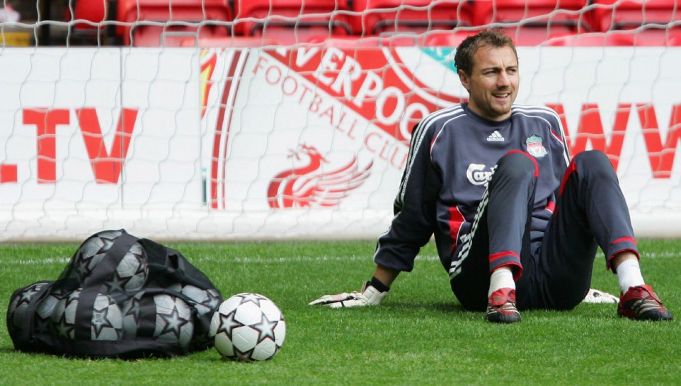 Jerzy Dudek był piłkarzem Liverpoolu przez 6, a Realu przez 4 lata (fot. Alex Livesey/Getty Images)