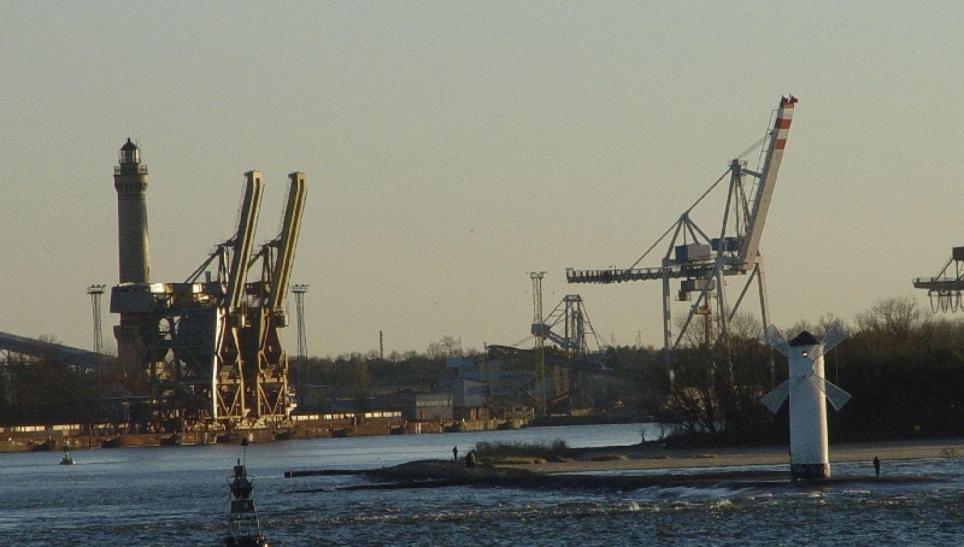 The port in Świnoujście. Photo: port.szczecin.pl