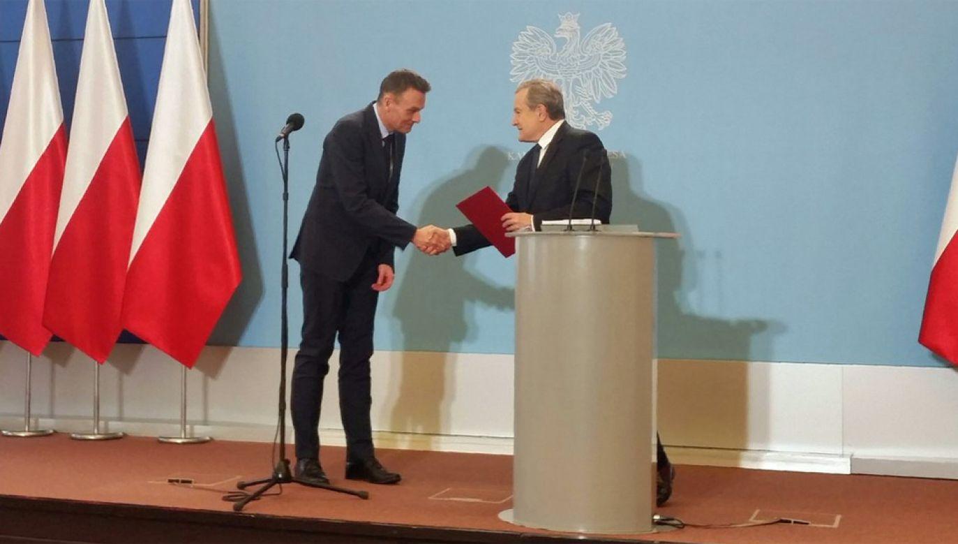 Wojciech Kaczmarczyk został powołany na stanowisko dyrektora Narodowego Instytutu Wolności (fot. TT/KPRP)