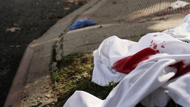 Ofiary zaatakowano nożem (zdjęcie ilustracyjne; fot. Spencer Platt/Getty Images)