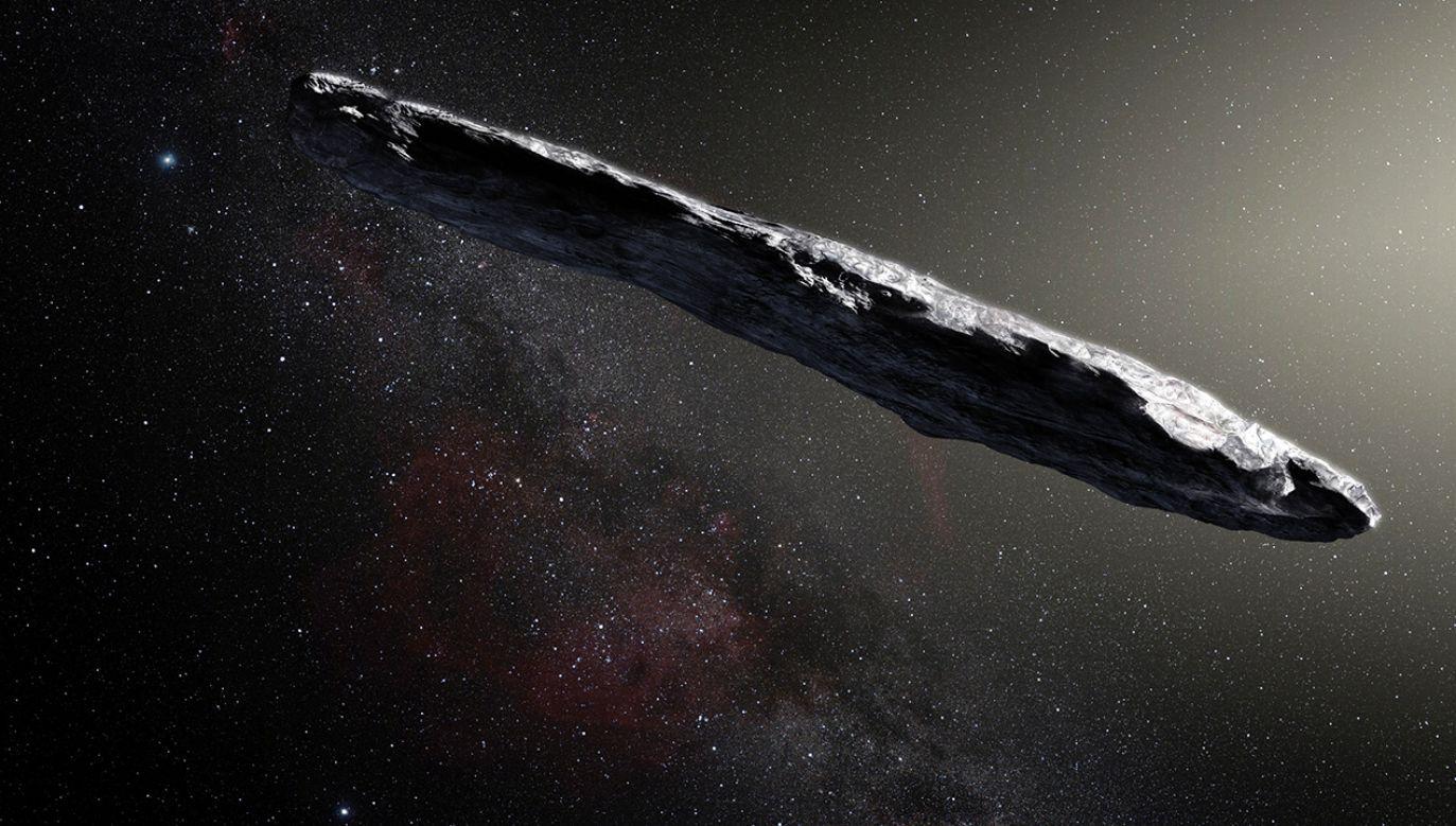 1I/ʻOumuamua - obiekt spoza układu słonecznego (fot. pl.wikipedia.org)