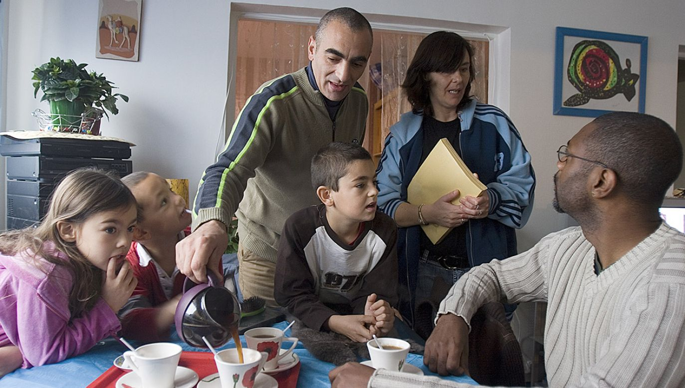 Biskupi francuscy wydali oświadczenie, w którym bronią tradycyjnego modelu rodziny (fot. Michel Setboun/Corbis via Getty Images)
