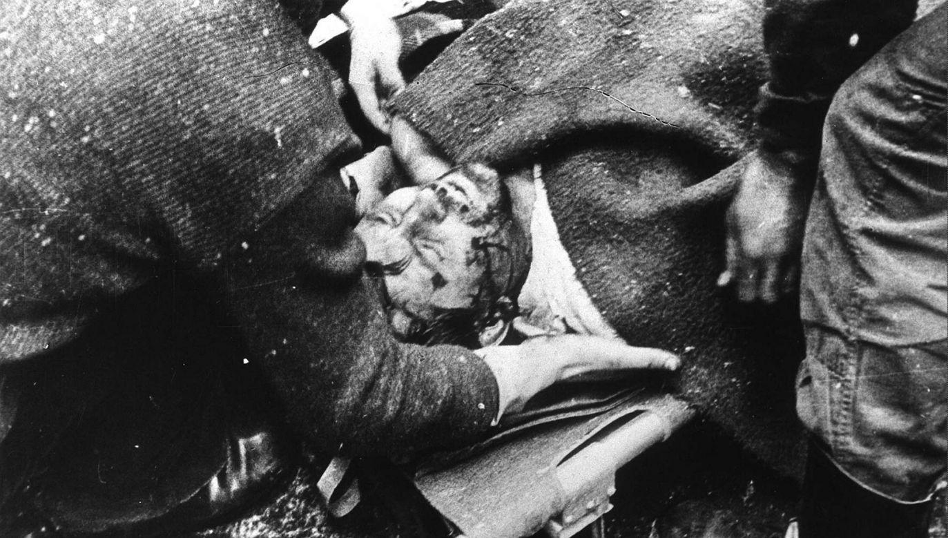 Podczas pacyfikacji strajku zginęło 9 górników (fot. arch. PAP/ Marek Janicki)