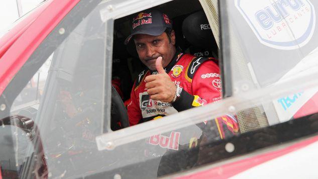 Katarczyk Nasser Al-Attiyah swój pierwszy Rajd Dakar wygrał w 2011 roku (fot. PAP/EPA/ERNESTO ARIAS)