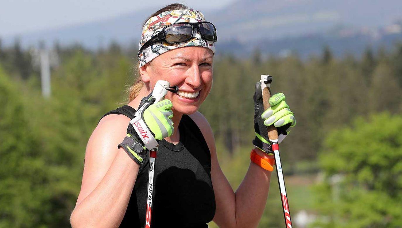 Dwukrotna mistrzyni olimpijska Justyna Kowalczyk (fot. arch. PAP/Grzegorz Momot)