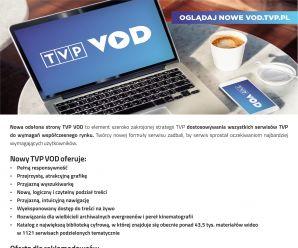 Nowa odsłona serwisu VOD.TVP.PL