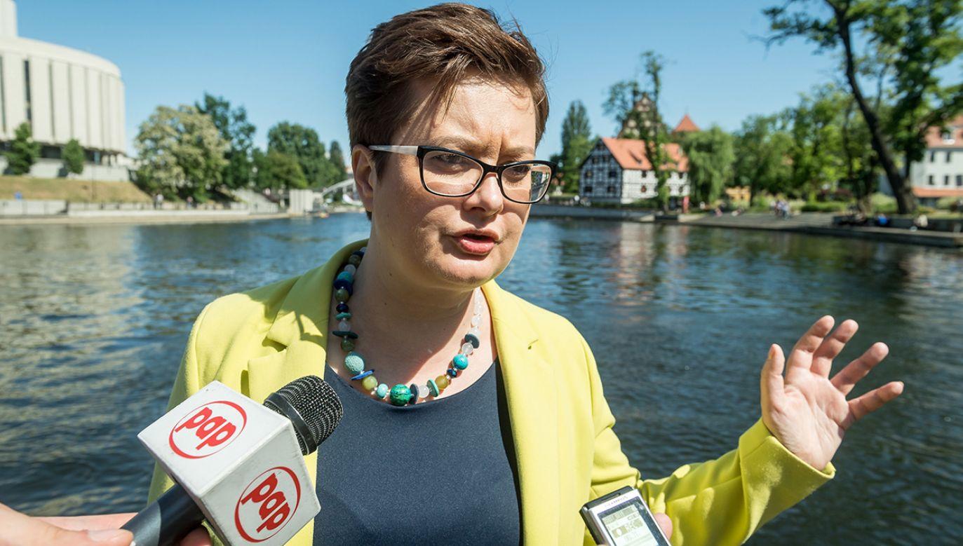 Szefowa Nowoczesnej Katarzyna Lubnauer  (fot. PAP/Tytus Żmijewski)