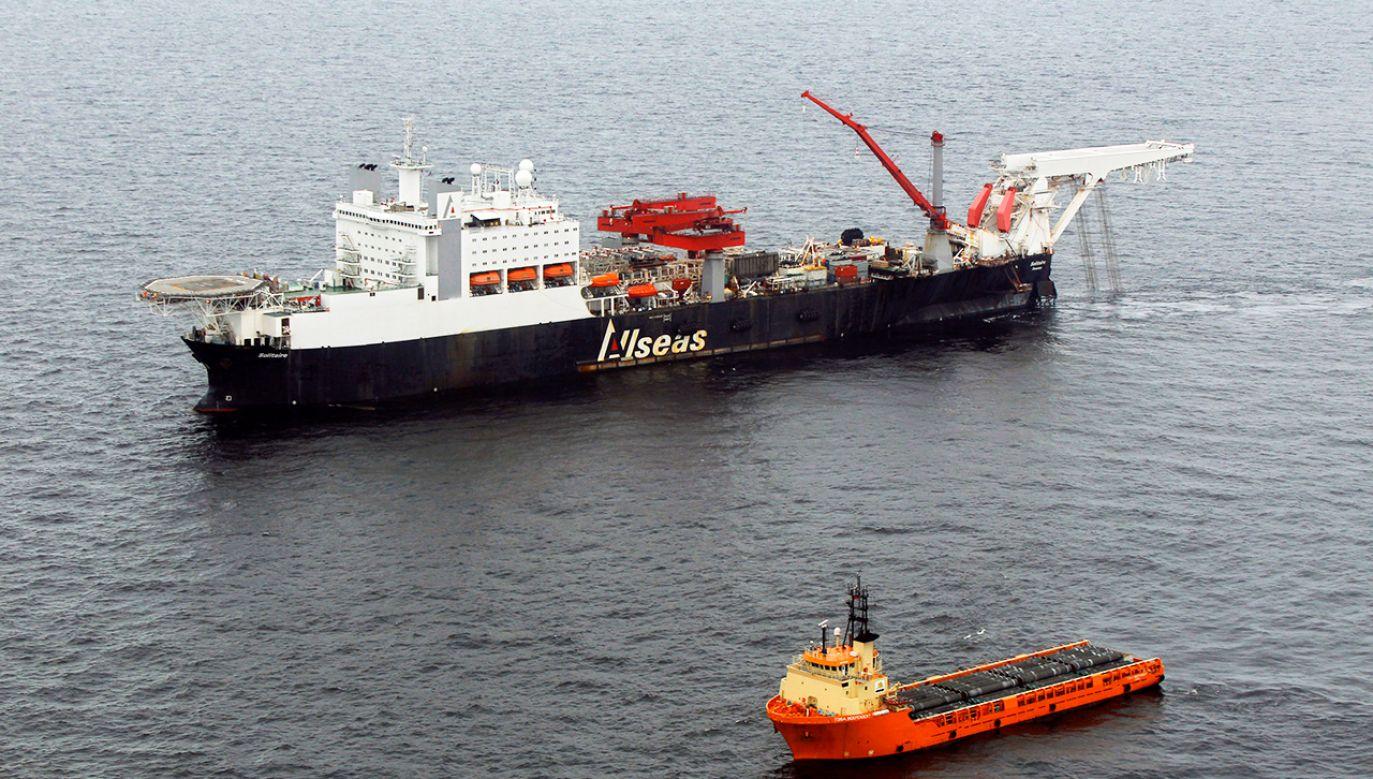 Rząd Niemiec wspiera budowę Nord Stream 2, utrzymując, że ma on charakter biznesowy (fot. REUTERS/Dmitry Lovetsky/Pool)