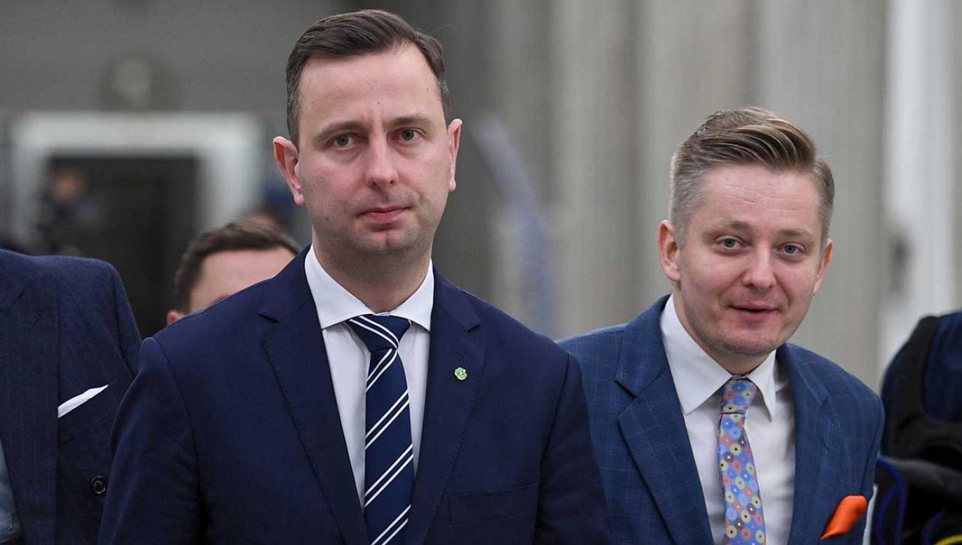 Kosiniak-Kamysz odniósł się do wczorajszych wpisów rzecznika partii (fot. arch. PAP/Jacek Turczyk)