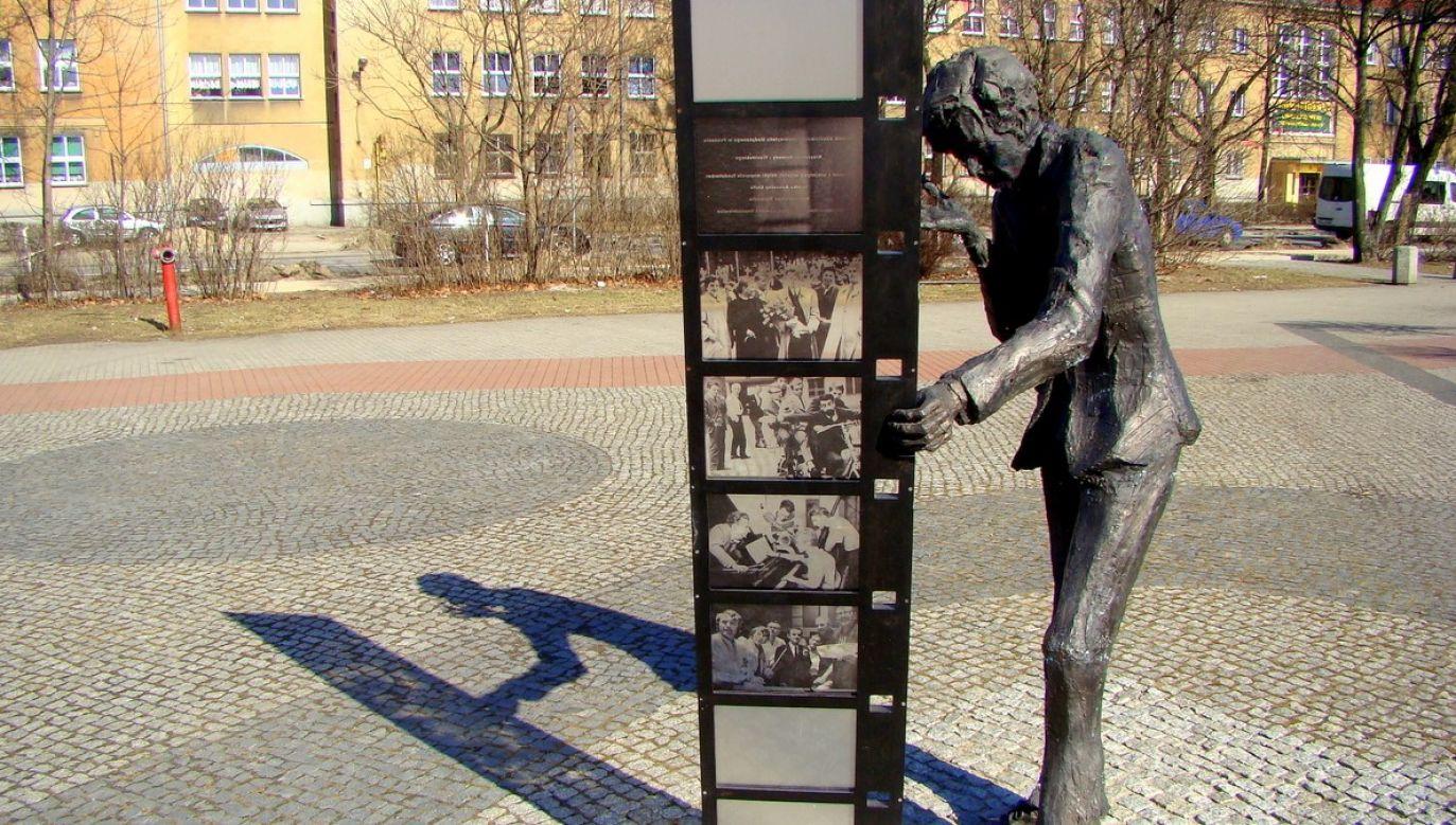 Pomnik Krzysztofa Komedy w Poznaniu. Fot. Wikimedia/Stiopa - Praca własna, CC BY-SA 3.0