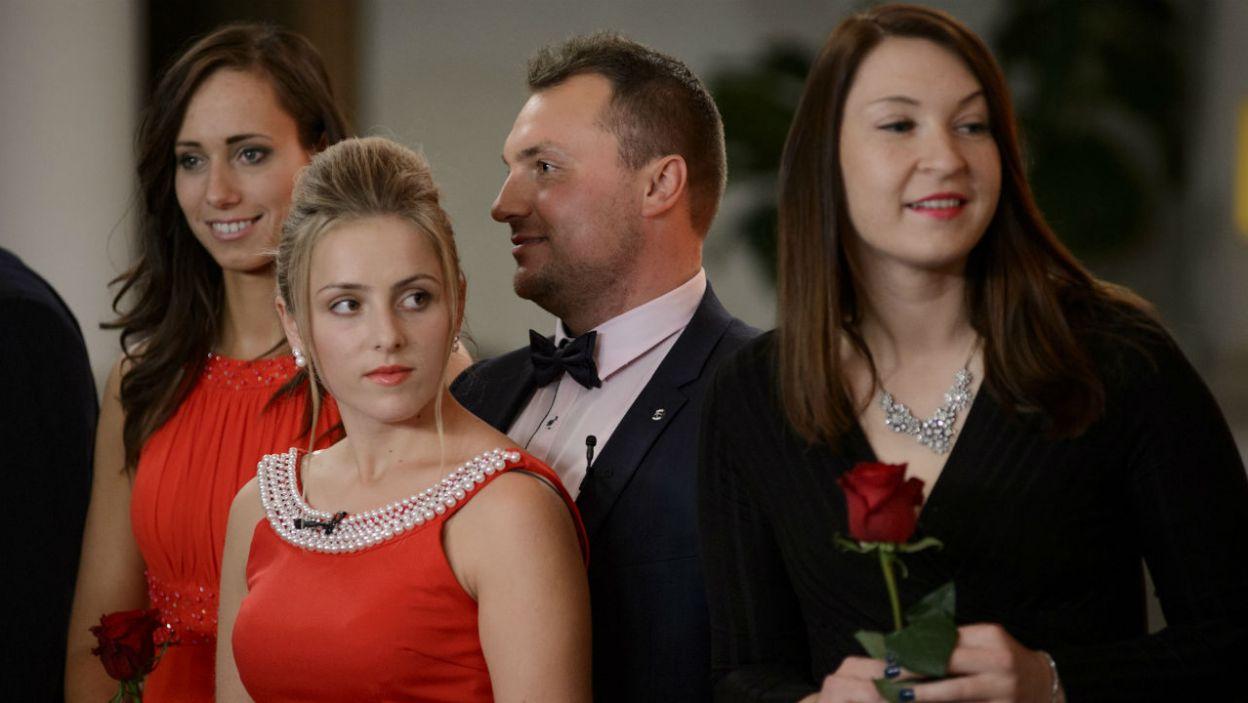 Na razie Grzegorz i Dorota zgodnie przyznają, że chcą się poznawać (fot. TVP)