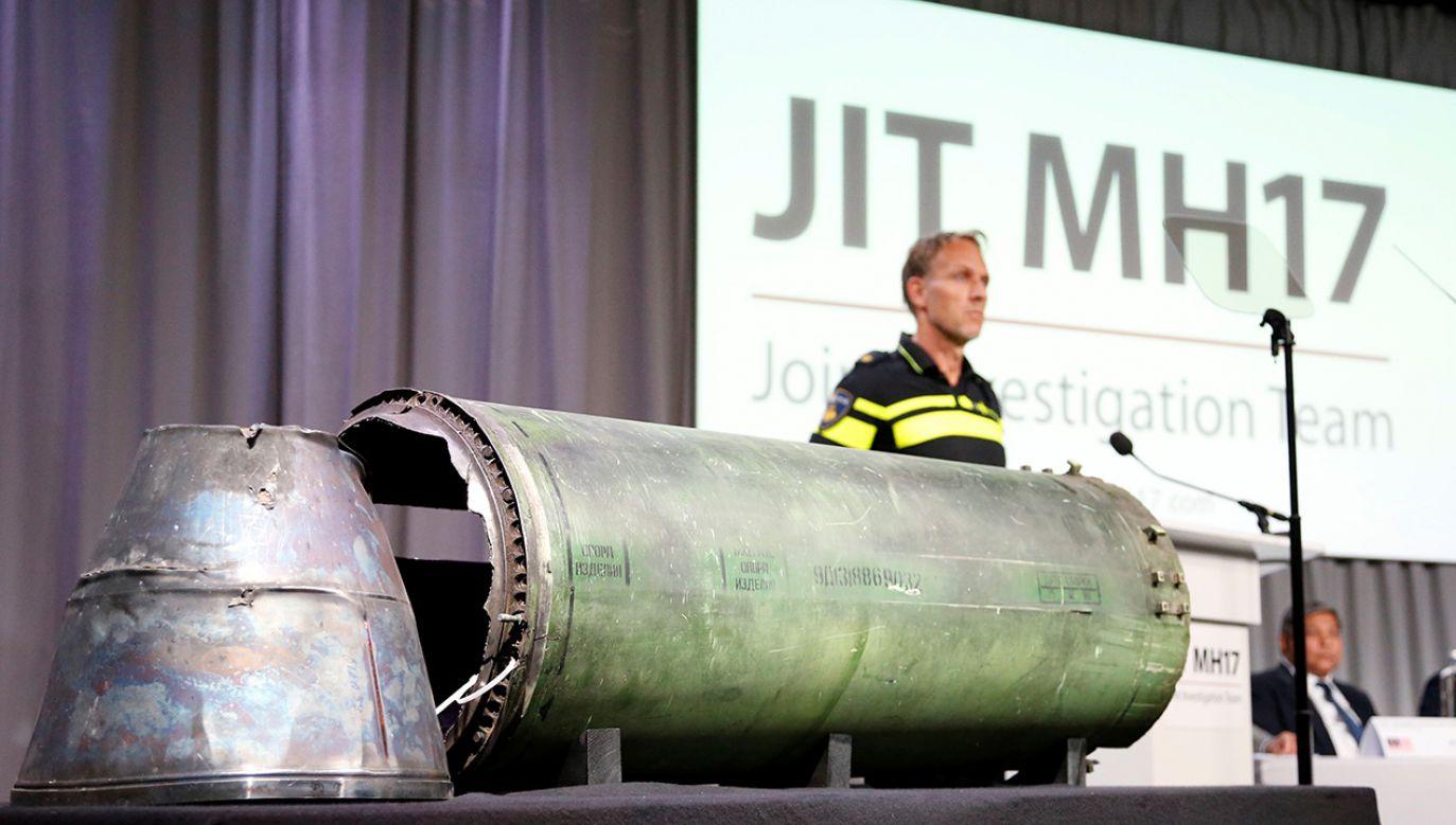 Miedzynarodowa grupa śledczych ustaliła, że rakieta typu Buk, którą zestrzelono samolot, pochodziła z Rosji (fot. REUTERS/Francois Lenoir)