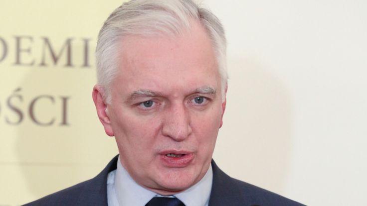 Wicepremier Jarosław Gowin. Fot. PAP/Stanisław Rozpędzik