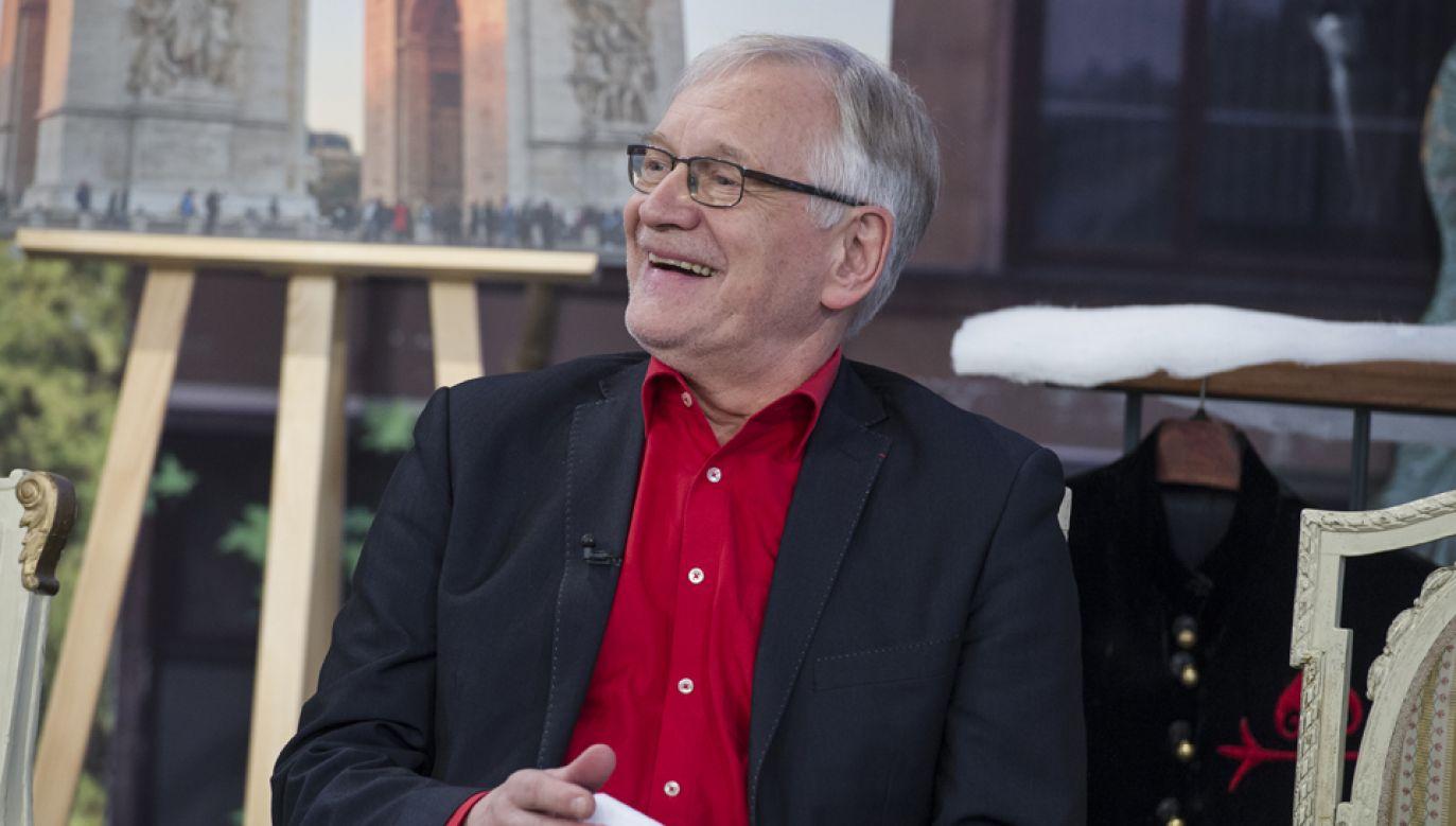 Andrzej Seweryn (fot. TVP/Jan Bogacz)