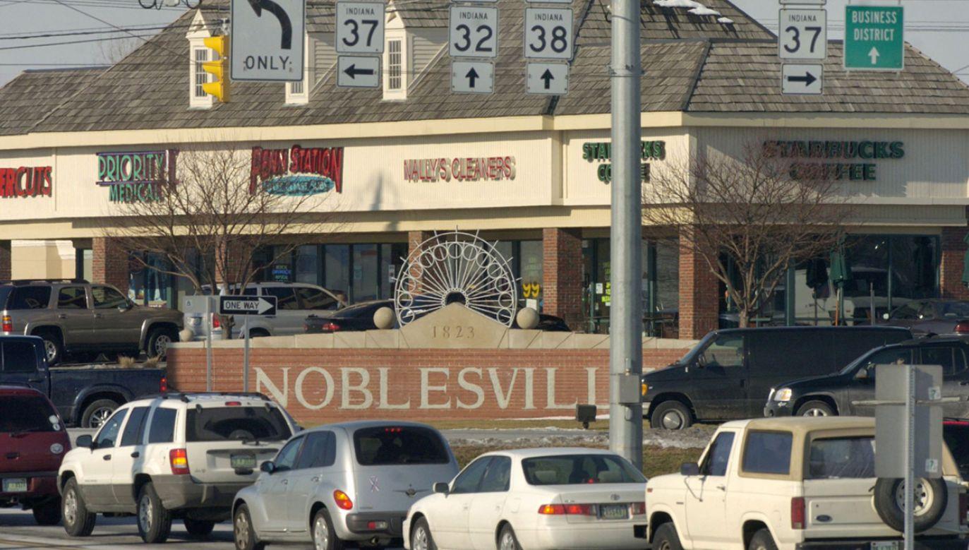 Do strzelaniny doszło w Noblesville na przedmieściach Indianapolis (fot. tt/@usanews2017)