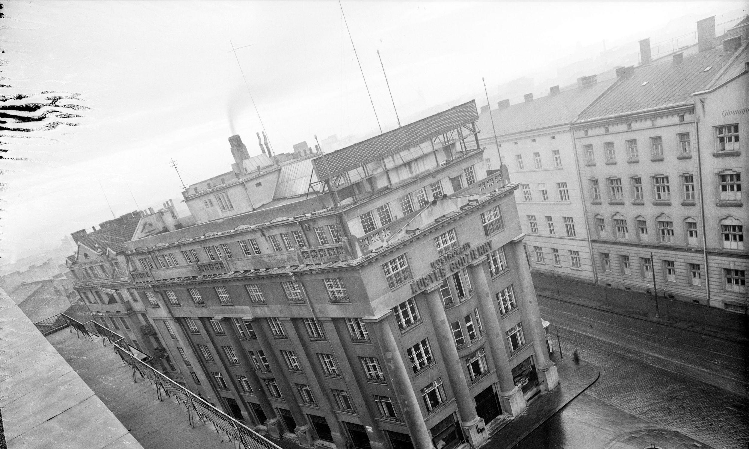 Pałac Prasy w Krakowie, rok 1935. Fot. NAC/IKC