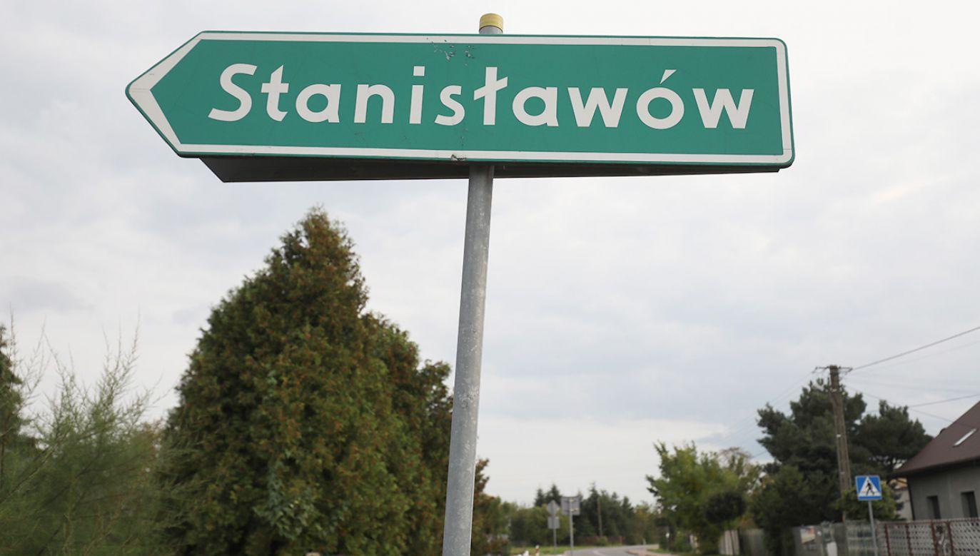 Miejscowość Stanisławów w gminie Baranów w województwie mazowieckim (fot. arch.PAP/Paweł Supernak)