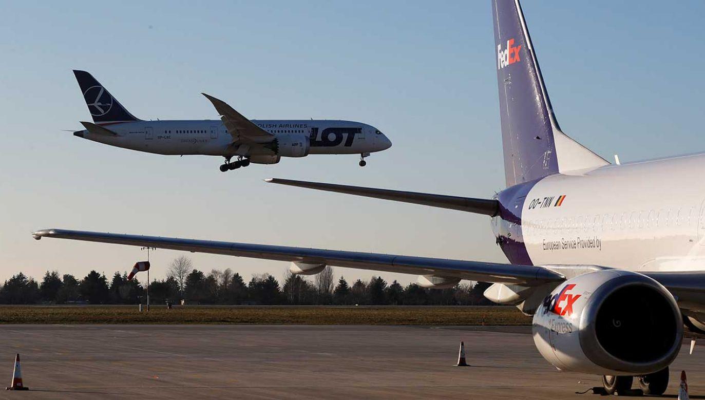Polskie porty lotnicze odprawiły w 2018 r. 45,7 mln pasażerów (fot. REUTERS/Kacper Pempel)