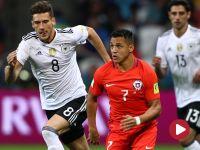 Show Alexisa Sancheza. Niemcy remisują z Chile