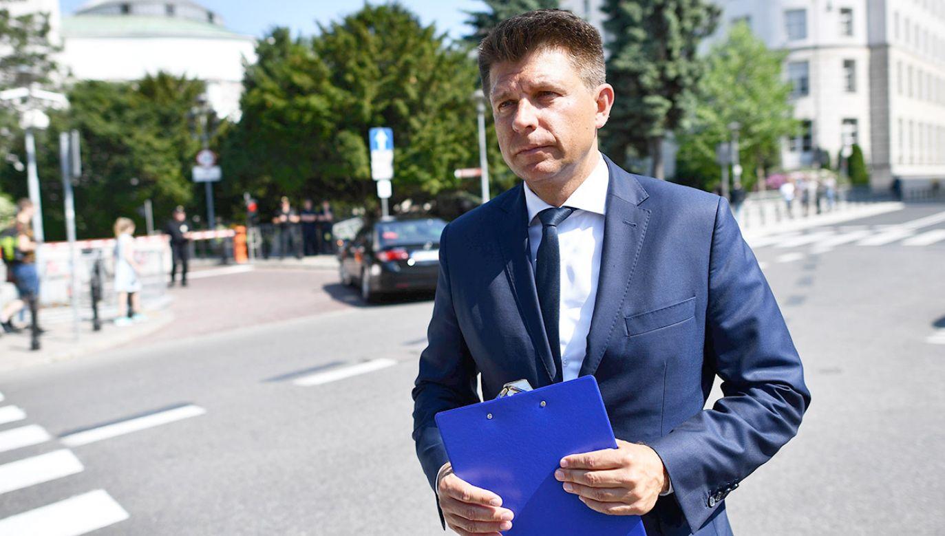 Przewodniczący Koła Poselskiego Liberalno-Społeczni (fot. arch.PAP/Jacek Turczyk)