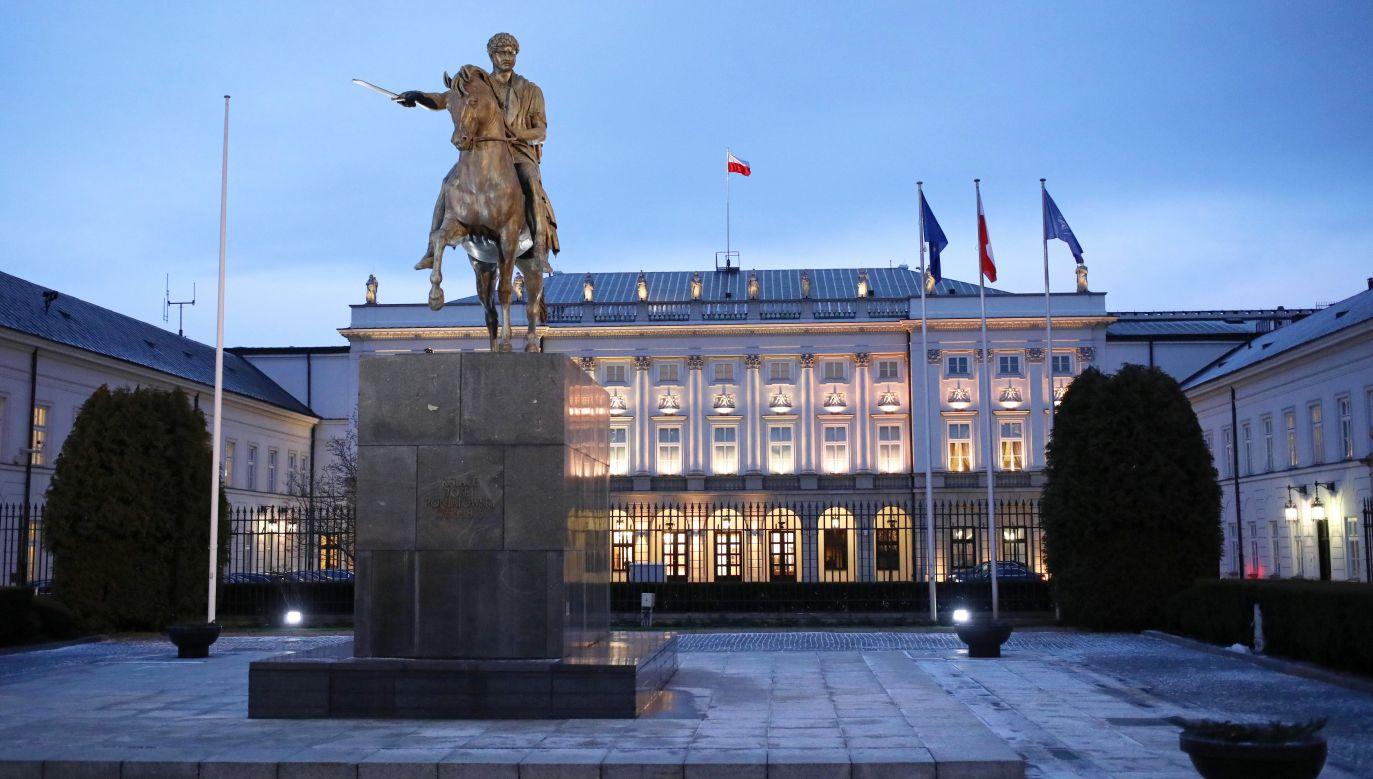 Pałac Prezydencki w Warszawie (fot.arch/PAP/Leszek Szymański)