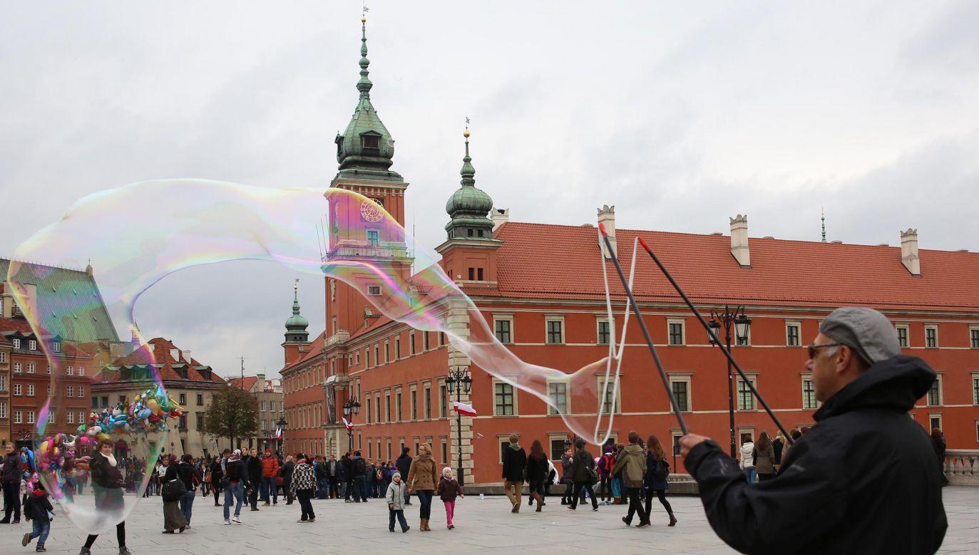 Warsaw Old Town. Photo: Mehmet Kaman/Anadolu Agency/Getty Images