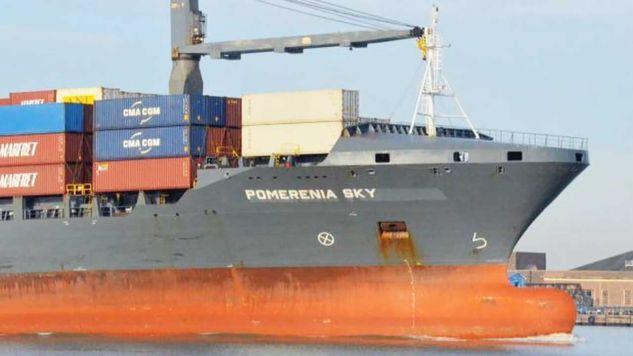 Załoga statku została porwana przez piratów pod koniec października (fot. TT/TVP3 Szczecin)
