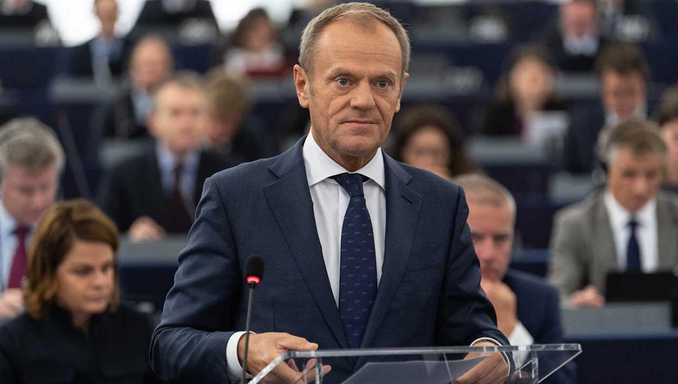 Na szczycie zwołanym przez Tuska ma być zatwierdzone porozumienie między UE a Wielką Brytanią  (fot. arch. PAP/PATRICK SEEGER)