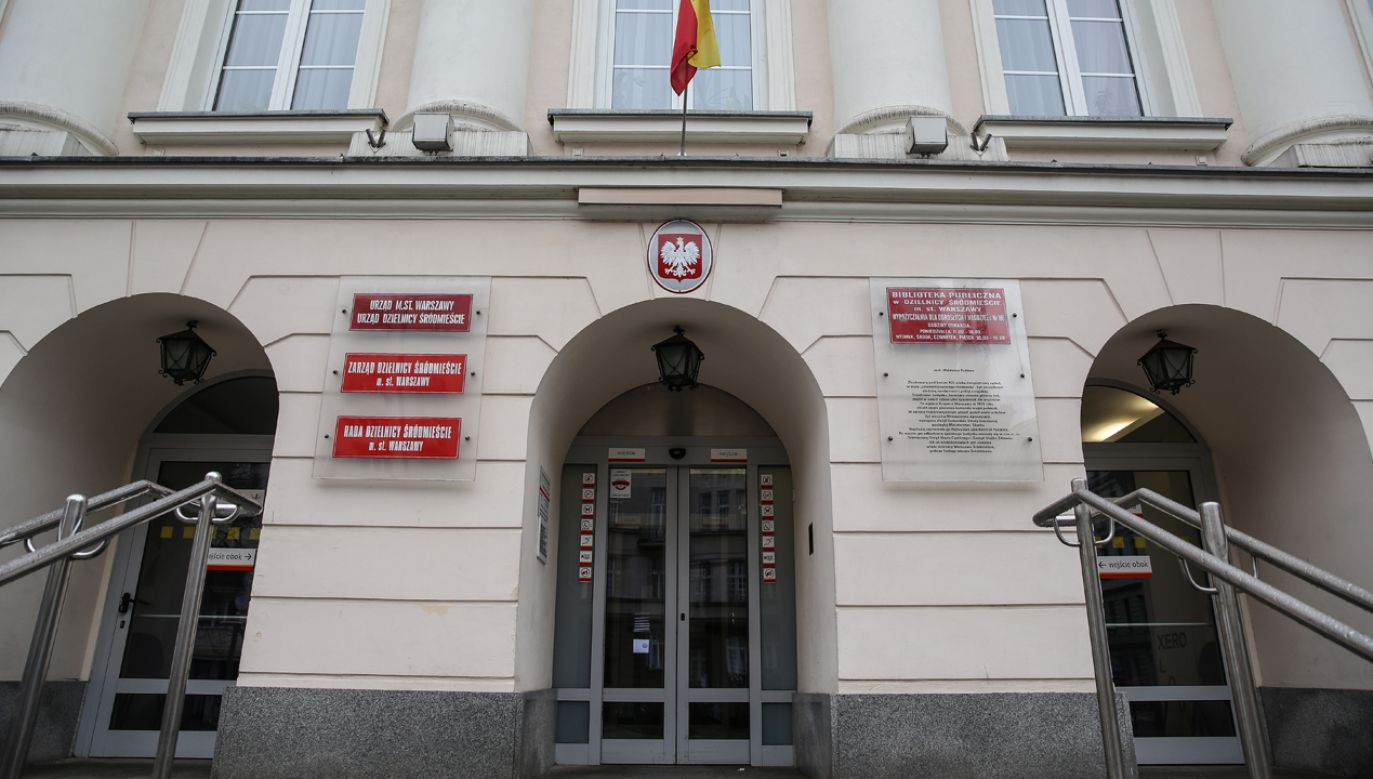 Urząd dzielnicy  Warszawa Śródmieście (fot. arch. PAP/Rafał Guz)