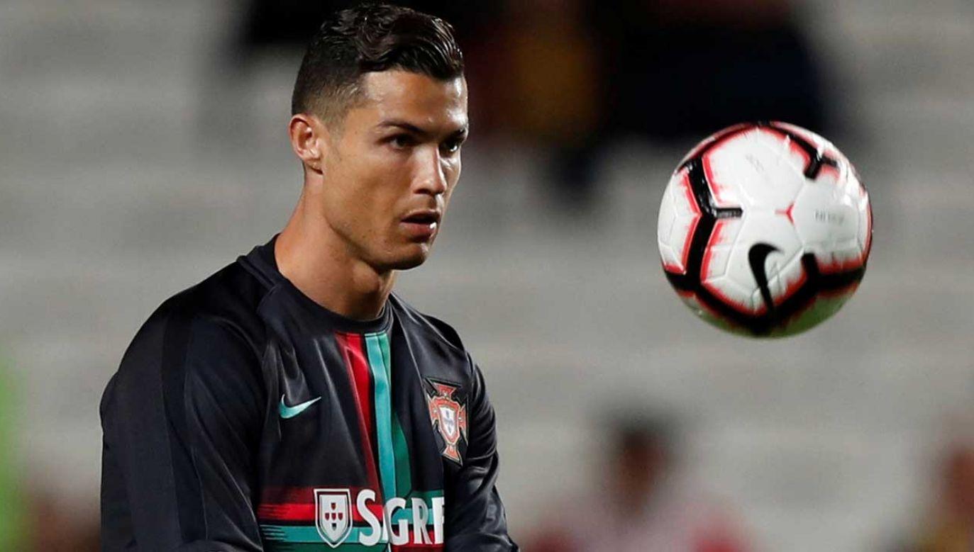 Cristiano Ronaldo (fot. REUTERS/Rafael Marchante)