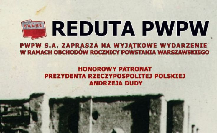 Widowisko rekonstrukcyjne upamiętniające walki o Redutę PWPW