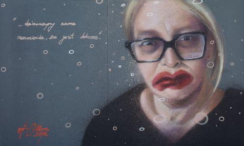 "Portret, autor – ""Mgr Mors"". Fot. archiwum Mariusza Brodowskiego"