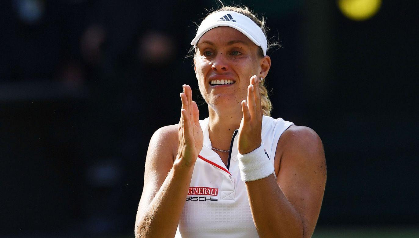 Angelique Kerber popełniła w finale znacznie mniej błędów i dlatego wygrała z Sereną Williams (fot. Getty)