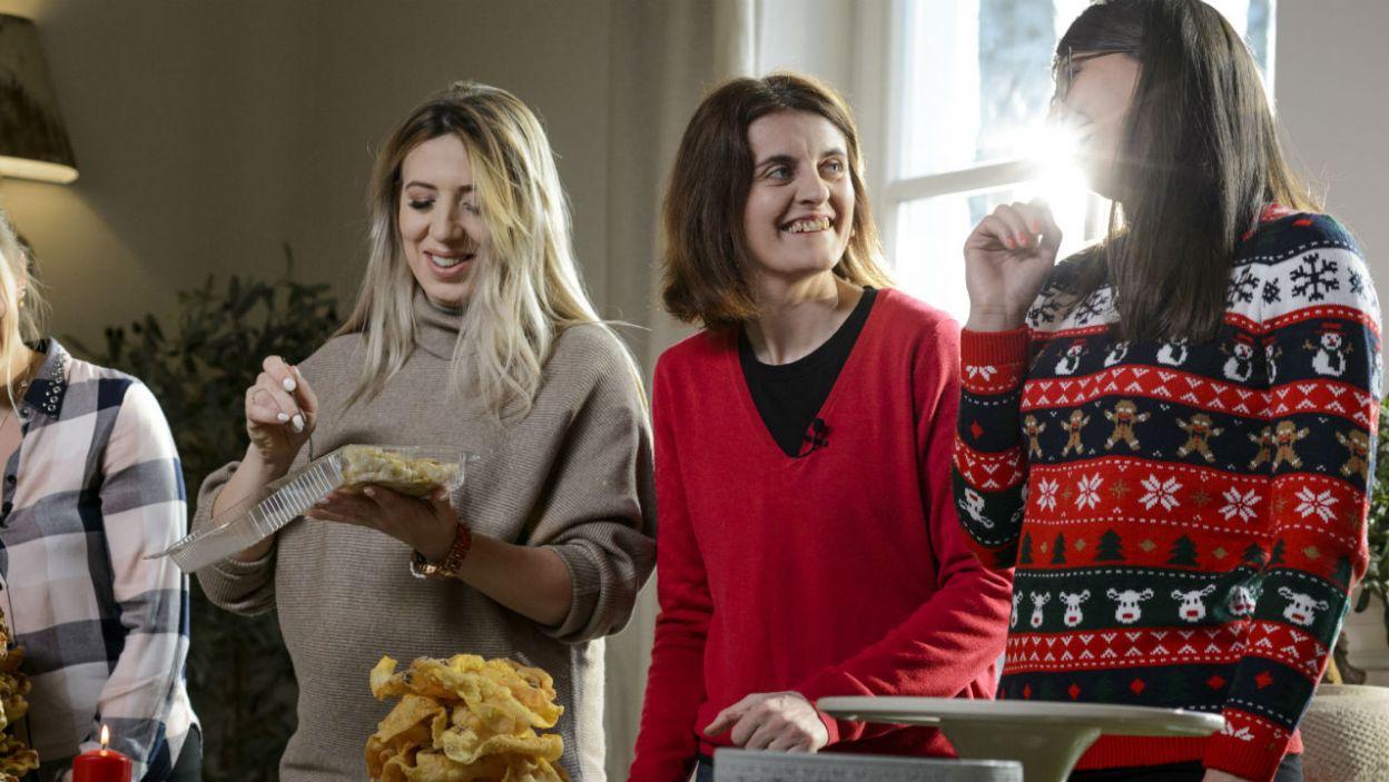 Panie miały chwilę na ploteczki w kuchni. Jak przygotowują się do świąt? (fot. TVP)